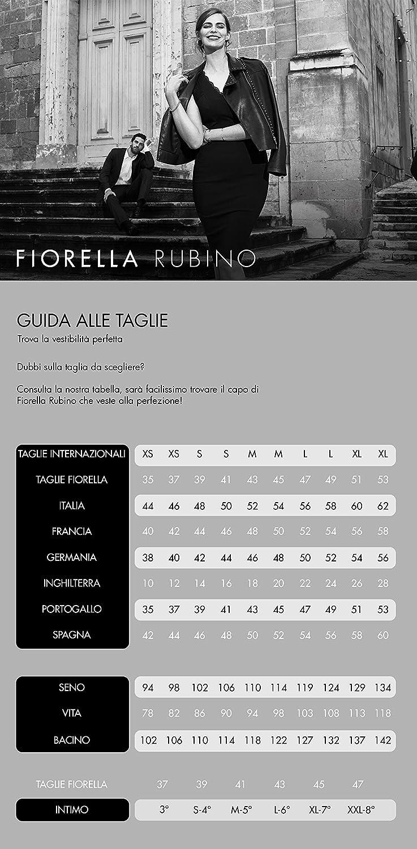 Fiorella Rubino : Pantalon Skinny en Deux Tissus (Italian Plus Size) Noir