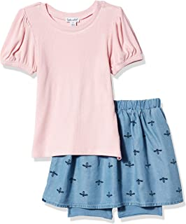 Splendid Baby Girls' Kids' Short Sleeve Skirt Set
