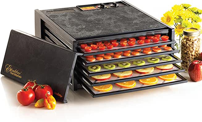 Excalibur 3526TB Electric Food Dehydrator with Temperature Settings