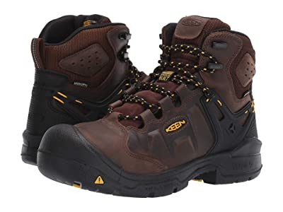 Keen Utility 6 Dover WP (Dark Earth/Black) Men