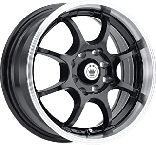 Konig Lightning Gloss Black Wheel with Machined Lip (14x6