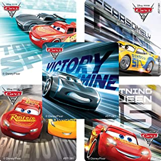 Cars 3 Movie Stickers - Prizes 100 per Pack