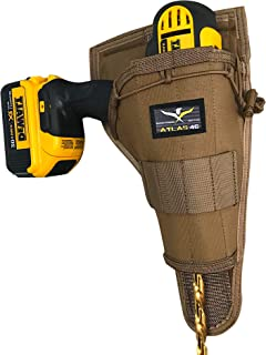 Atlas 46 AIMS Large Drill Holster - Right Handed, Coyote | Hand crafted in the USA