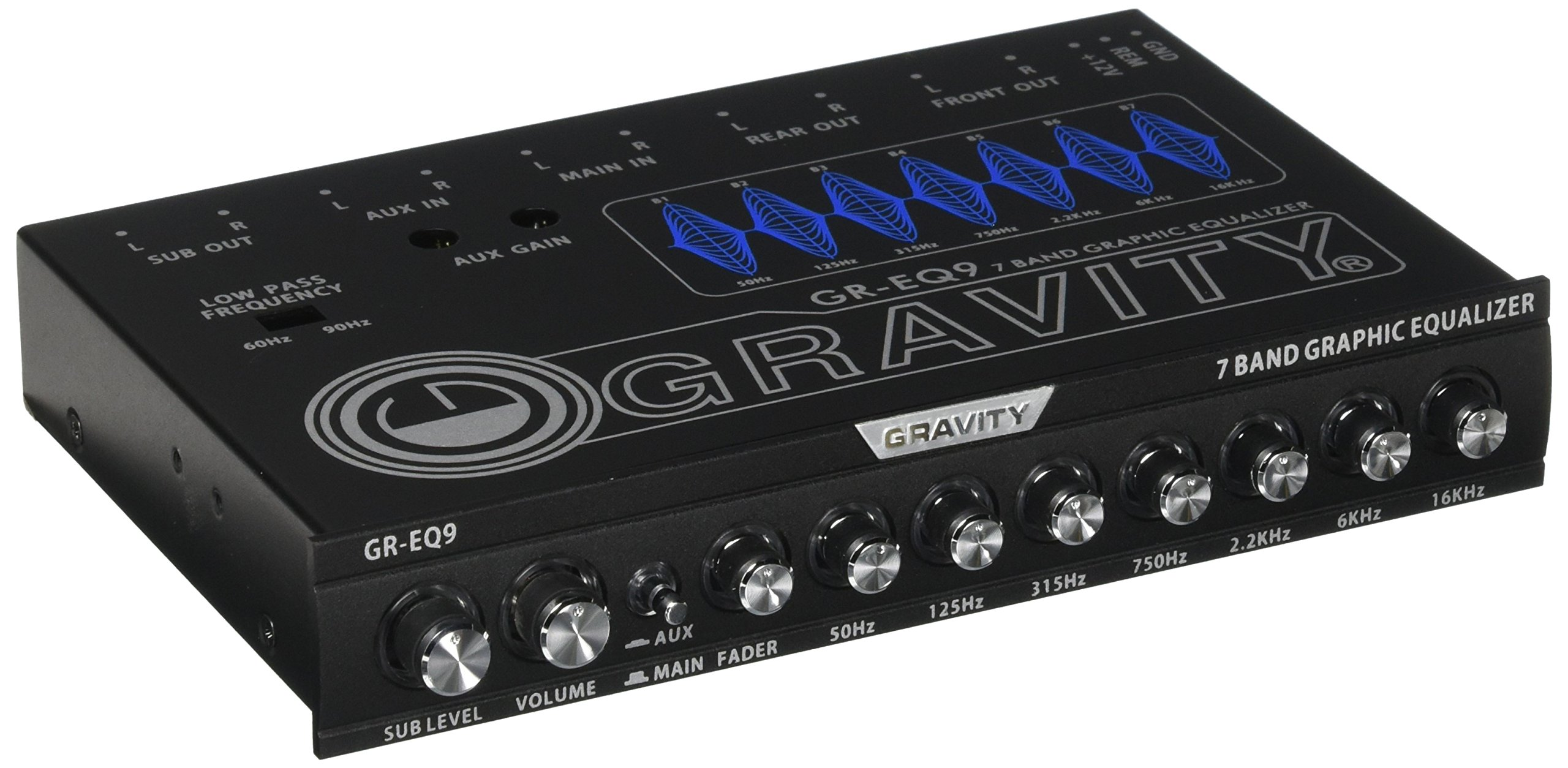 GRAVITY Band Graphic Equalizer GR EQ9