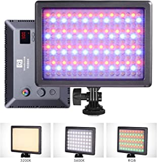 NanGuang RGB66 Adjustable Bicolor Tuneable RGB Dimmable Hard and Soft Light AC/Battery Powered LED Panel