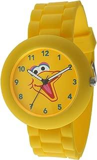 Sesame Street SW612BB Big Bird Yellow Rubber Watch