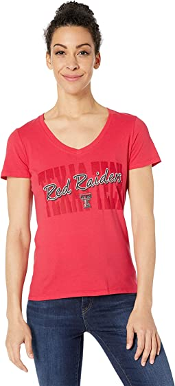 Texas Tech Red Raiders University V-Neck Tee