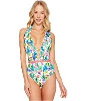 Cactus Goddess One-Piece Swimsuit