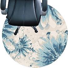 سجادة كرسي ، قاعدة غير قابلة للانزلاق ، مقاومة للاهتراء ، صامتة ، سهلة التنظيف سجادة للمكتب والمنزل (اللون: C ، الحجم: 90 ...