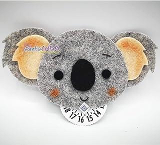 Disco Orario per auto con Koala - idea regalo uomo donna simpatica unica