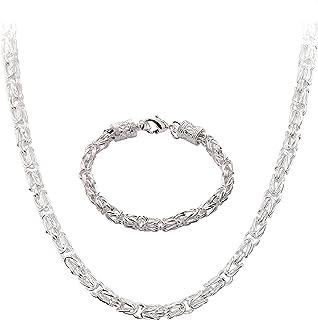 a1f44fa28785 Amazon.es: cadenas plata largas - Unisex: Joyería