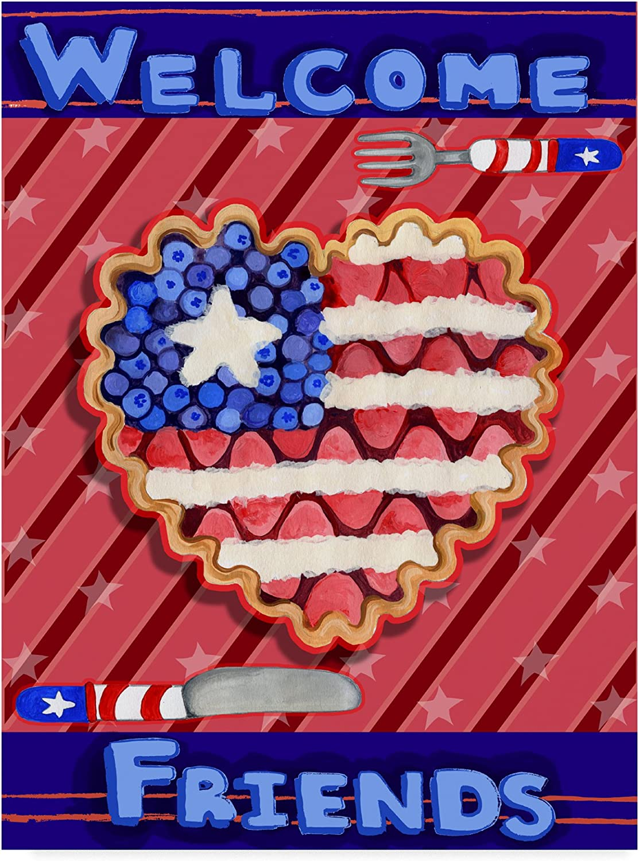 Patriotic Pie by Valarie Wade, 14x19Inch