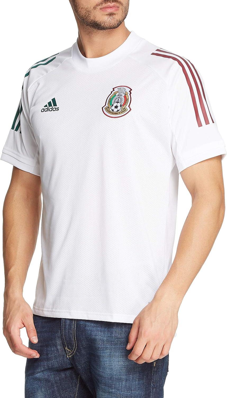 Amazon.com: adidas 2020-21 Mexico Training Jersey (Large) White ...