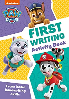 PAW Patrol First Writing Activity Book: Get Ready for School with Paw Patrol