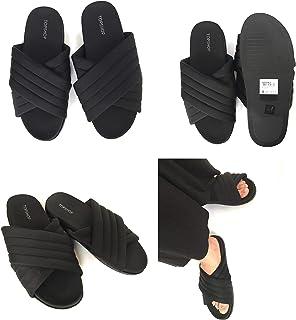 Women Ladies Orthopedic Diabetic Leather Mule Sandal Wedge Slipper Shoe Size