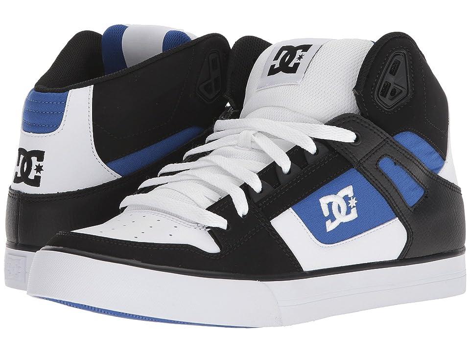 DC Pure High-Top WC (White/Blue/Black) Men