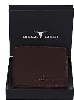 Urban Forest Dakota Brown Mens Leather Wallet