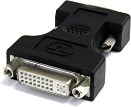 StarTech.com DVI-I to VGA Cable Adapter - Black - F / M - DVI I to VGA Adapter for Your VGA Monitor or Display (DVIVGAFMBK)