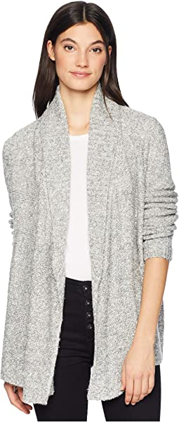 Happiness Is Heatherd Soft Cardigan