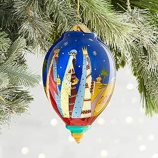Pier 1 Imports Li Bien Nativity Drop Christmas Ornament 2018 Glass