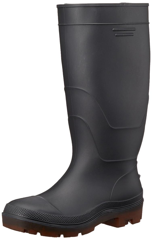 バイソン割る確保する安全長靴 PVC セフティブーツ JIS(S) 級相当先芯入 3E 88-95 メンズ