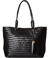 Cole Haan - Celia Woven Medium Zip Top Tote