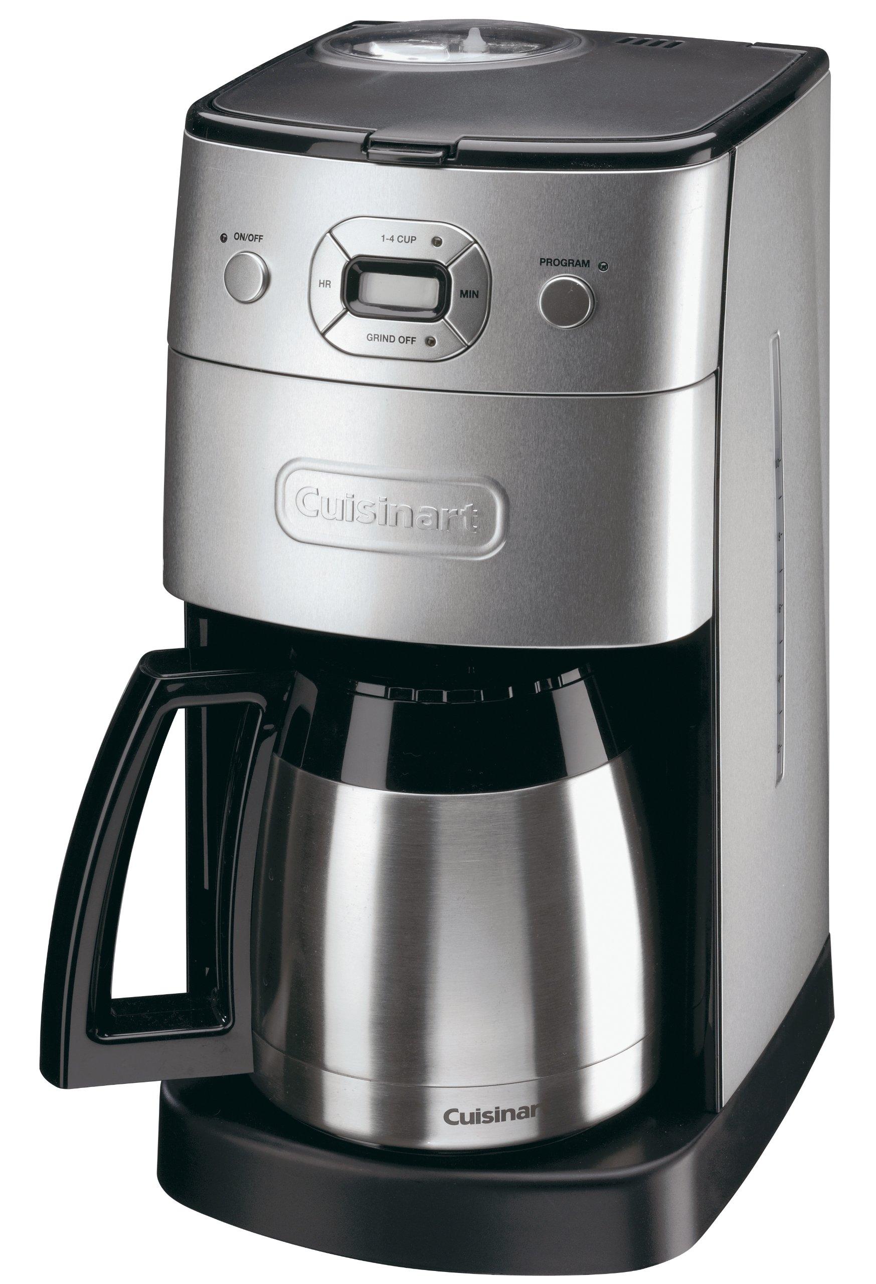 Cuisinart - Grind dgb650bcu y preparación automática filtro ...