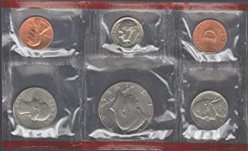 1986 D United States Mint Coin Uncirculated Set Gem Uncirculated
