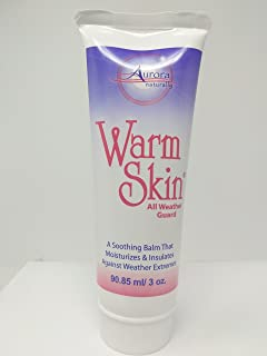 Warm Skin All Weather Guard - Barrier Cream for Skin, Great Cold Weather Protection and Personal Care Aid for Enhanced Circulation