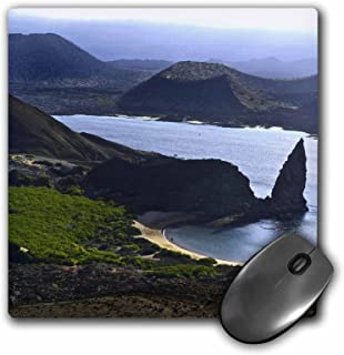 3dRose LLC 8 x 8 x 0.25 Inches Panoramic View From Top of Bartolome Reveals a Volcanic Landscape of Lave Flows Galapagos Ecuador Mouse Pad (mp_10150_1)