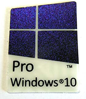 VATH Made Compatible Microsoft Windows 10 Pro Sticker/Badge/Emblem 17 x 23mm [905]
