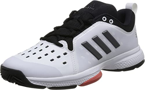 Adidas BARRICADE CLASSIC BOUNCE blanc NIGHT MET TRACE SCARLET