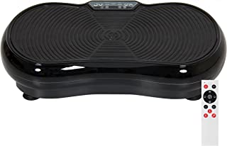 Best Choice Products Full Body Vibration Platform with Remote Control and Resistance Bands