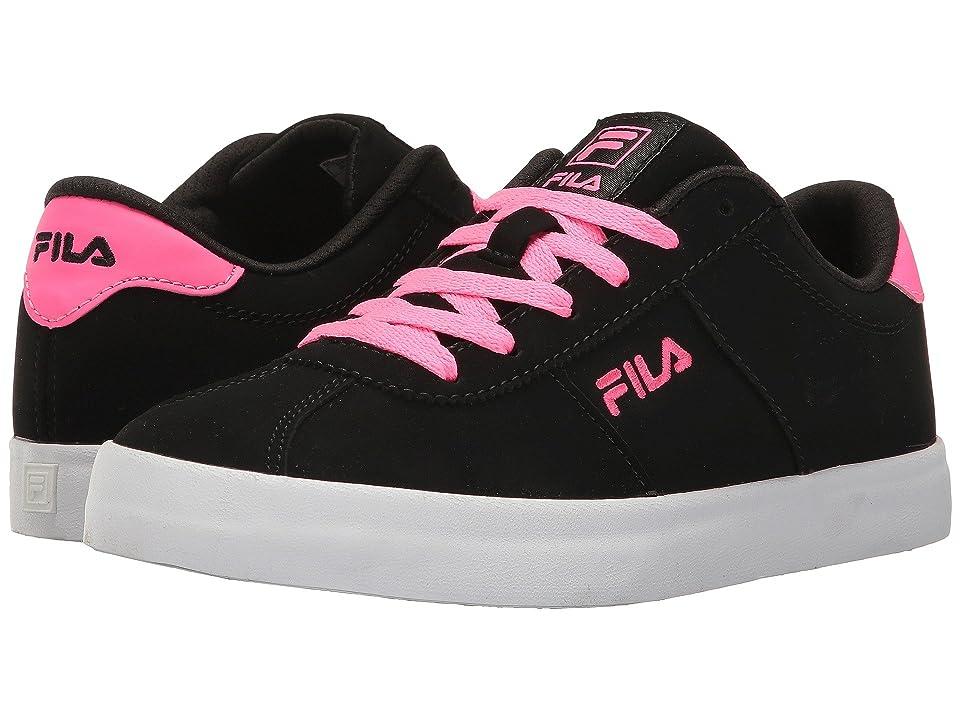 Fila Rosazza (Black/Knockout Pink/White) Women