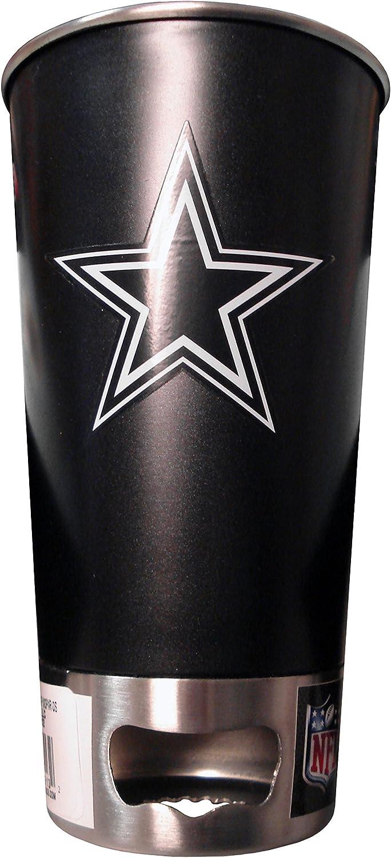 NFL Matte Metal Pint and Bottle Opener
