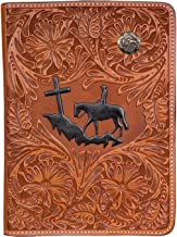 handtooled western bible covers