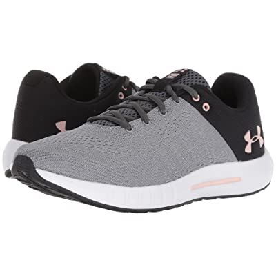 Under Armour UA Micro G Pursuit (Steel/Black/Flushed Pink) Women