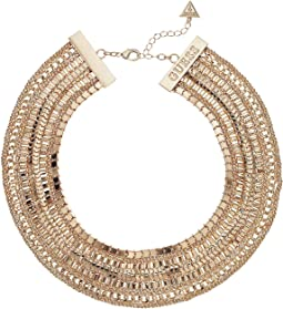 "Multi Chain Statement Necklace 16"" with 2"" Extender"