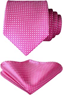 Best hot pink tie and pocket square Reviews