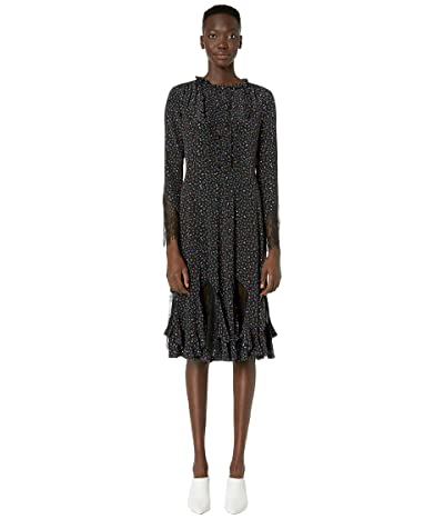 McQ Romantic Panelled Dress (Micro Floral) Women