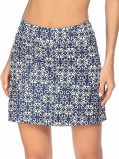 Onbay Women's Active Athletic Skort Lightweight Golf Tennis Skirts with Shorts Sports Running Workout S-XXL