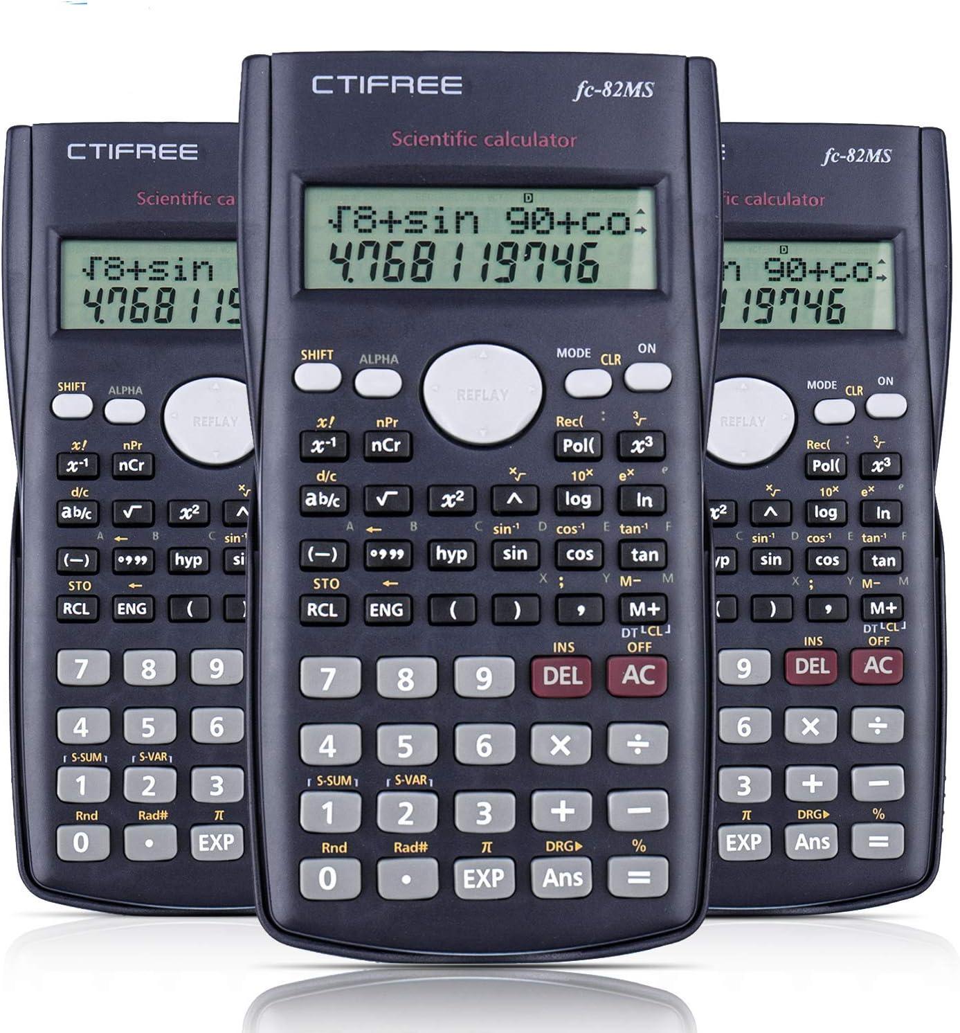 Splaks 2-Line Engineering Scientific supreme Indianapolis Mall Display Func LED Calculator