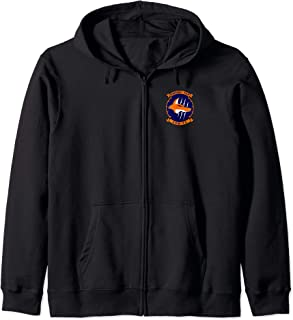 Navy Helicopter Maritime Strike Squadron 74 HSM-74 Patch Zip Hoodie