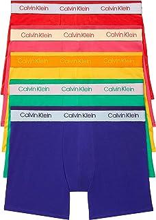 Calvin Klein The Pride Edit - Calzoncillos Tipo bóxer (5 Unidades) Ropa Interior de Hombres para Hombre