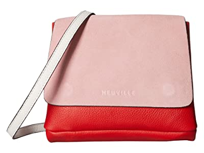NEUVILLE Baby City Satchel (Pink Suede) Handbags