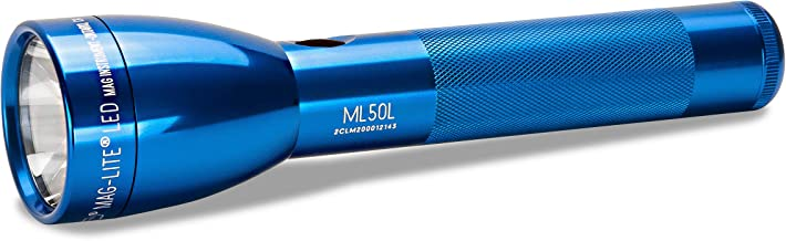 Maglite ML50L LED 2-Cell C Flashlight, Blue