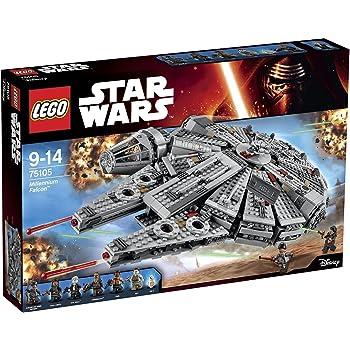 輸入レゴスターウォーズ LEGO Star Wars Millennium Falcon 75105 Building Kit [並行輸入品]