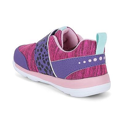 See Kai Run Kids Ryder (Toddler/Little Kid) (Purple/Hot Pink) Girl