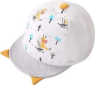 Connectyle Baby Infant Cotton Baseball Cap Toddler Boys UV Protection Sun Hat Cap