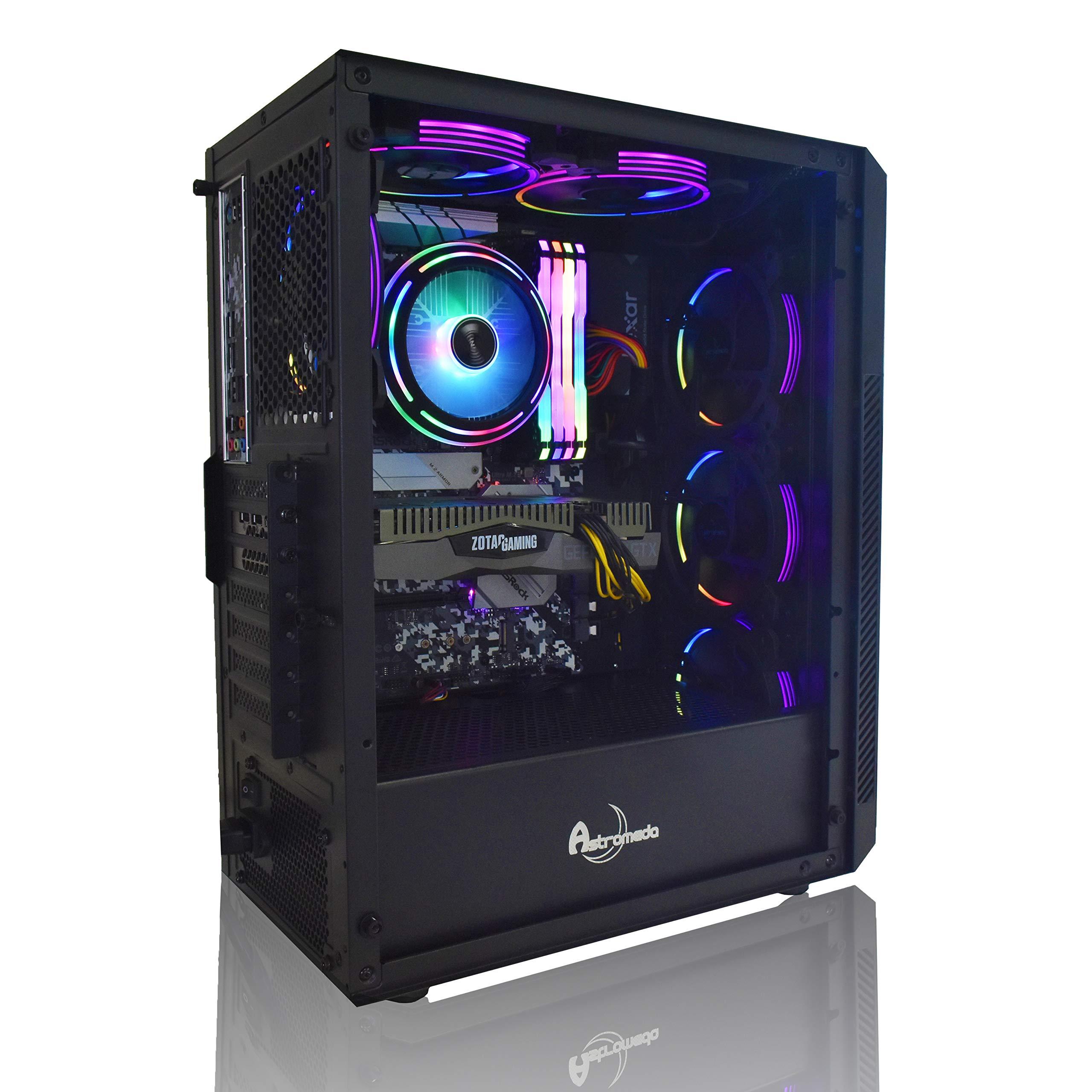 ASTROMEDA SIRIUS 年末特選モデル【Ryzen5-3500X/Geforce-GTX1660/RGBメモリ16GB/SSD240GB/HDD2TB/Widows10Home 64bit/600W/黒ケース】ゲーミングデスクトップパソコンv000
